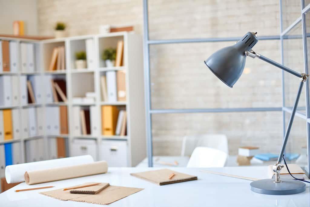 belle lampe d'architecte