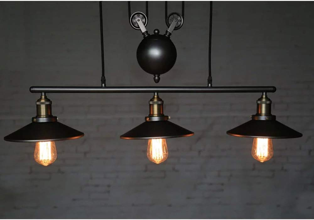 suspension avec 3 lampes