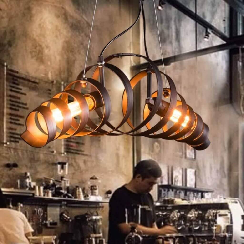lustre industriel design