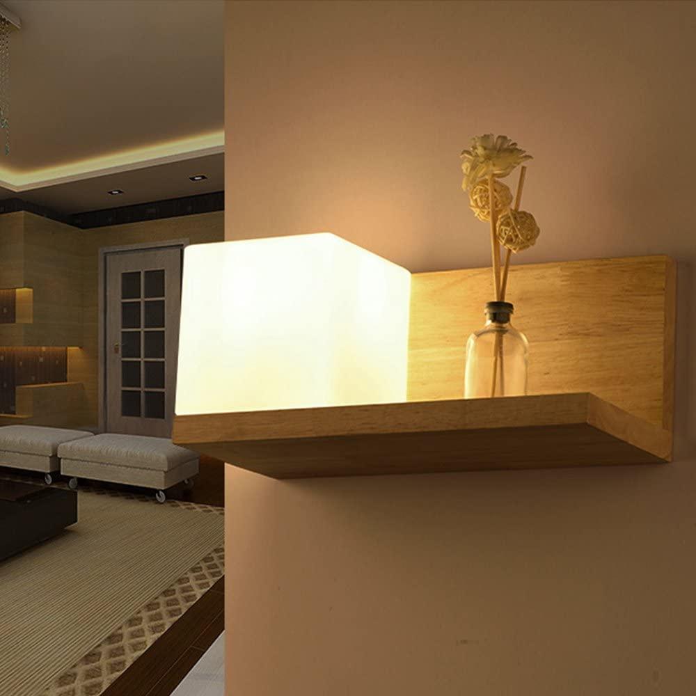 étagère avec éclairage intégré