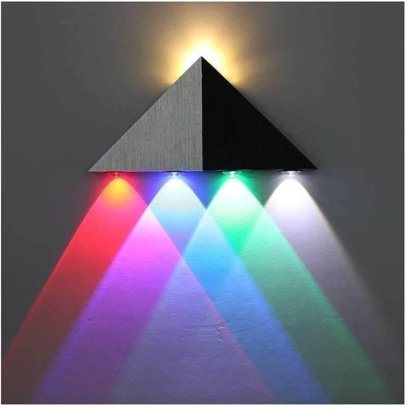 applique en triangle rgb